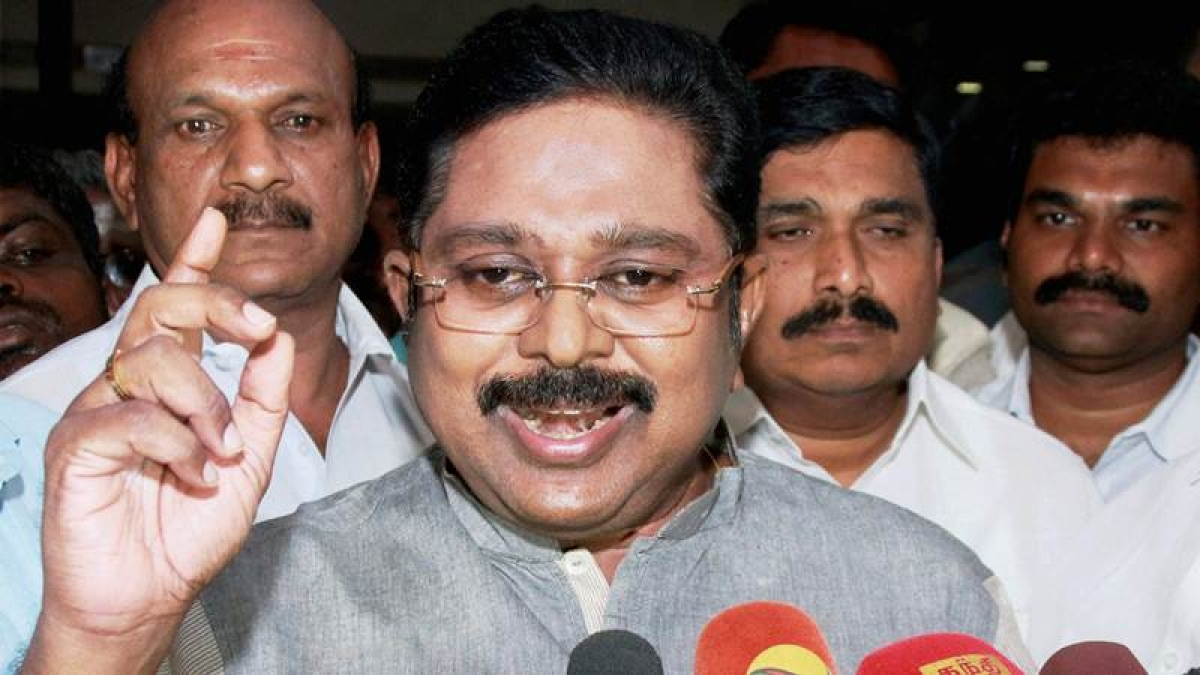 Tamil Nadu: Dhinakaran plays down ouster of VK Sasikala