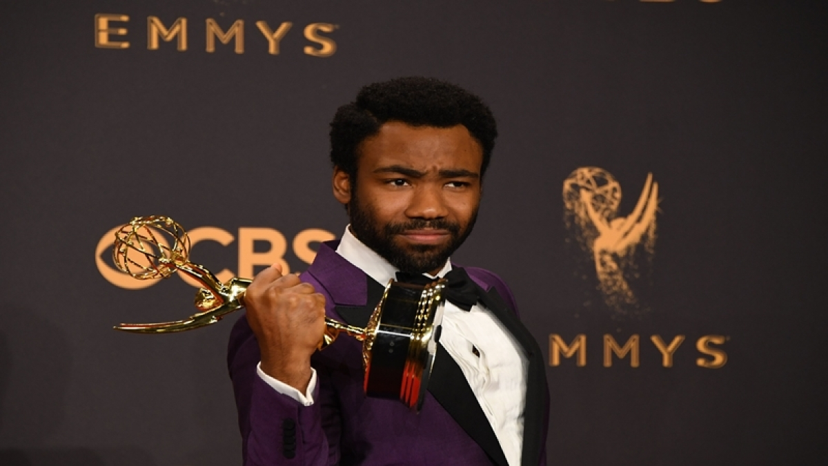 Emmys 2017: Donald Glover thanks Trump for making black people 'no. 1 on most oppressed list'