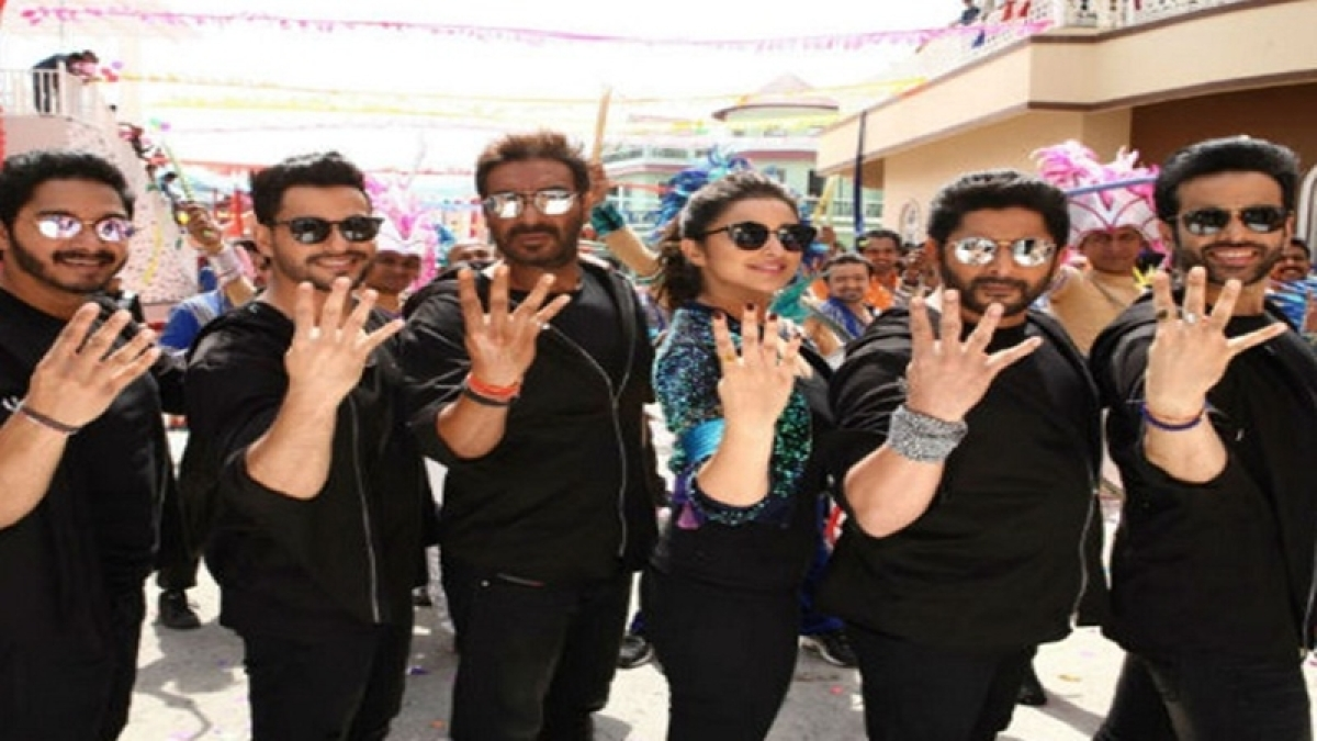 'Golmaal Again' title track: Ajay Devgn and his mad gang highlight stunts with this peppy number