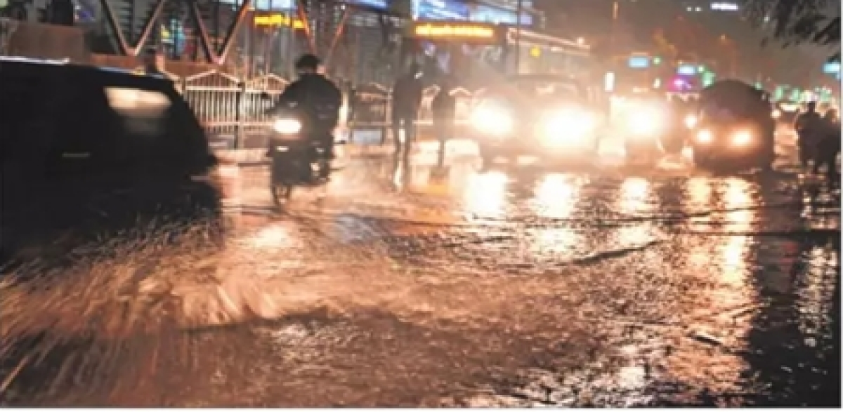 Indore: Intermittent rain offers respite from humidity