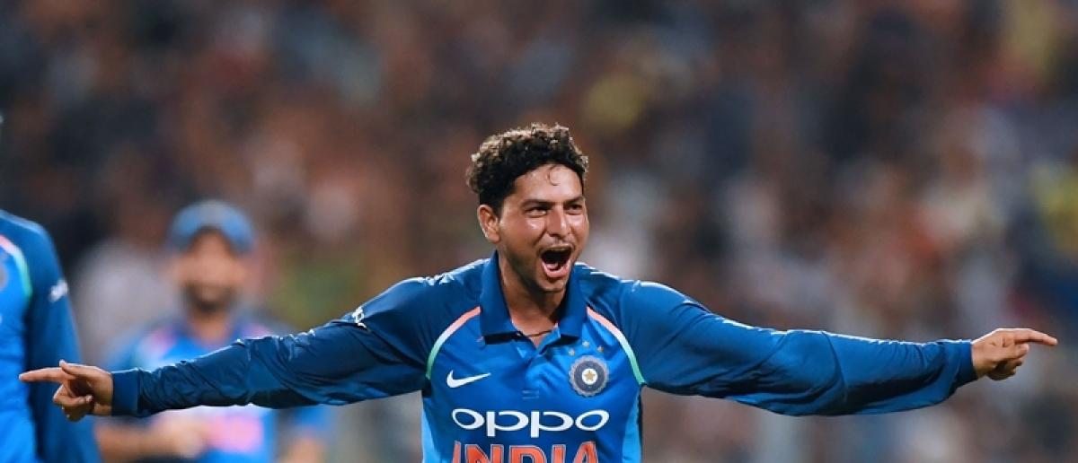 Sachin Tendulkar and other stars laud Kuldeep Yadav's hat-trick