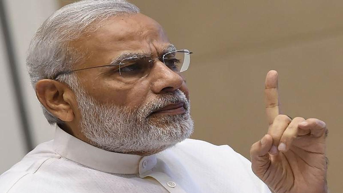 PM Narendra Modi pays tributes to Nanaji Deshmukh, Jaiprakash Narayan