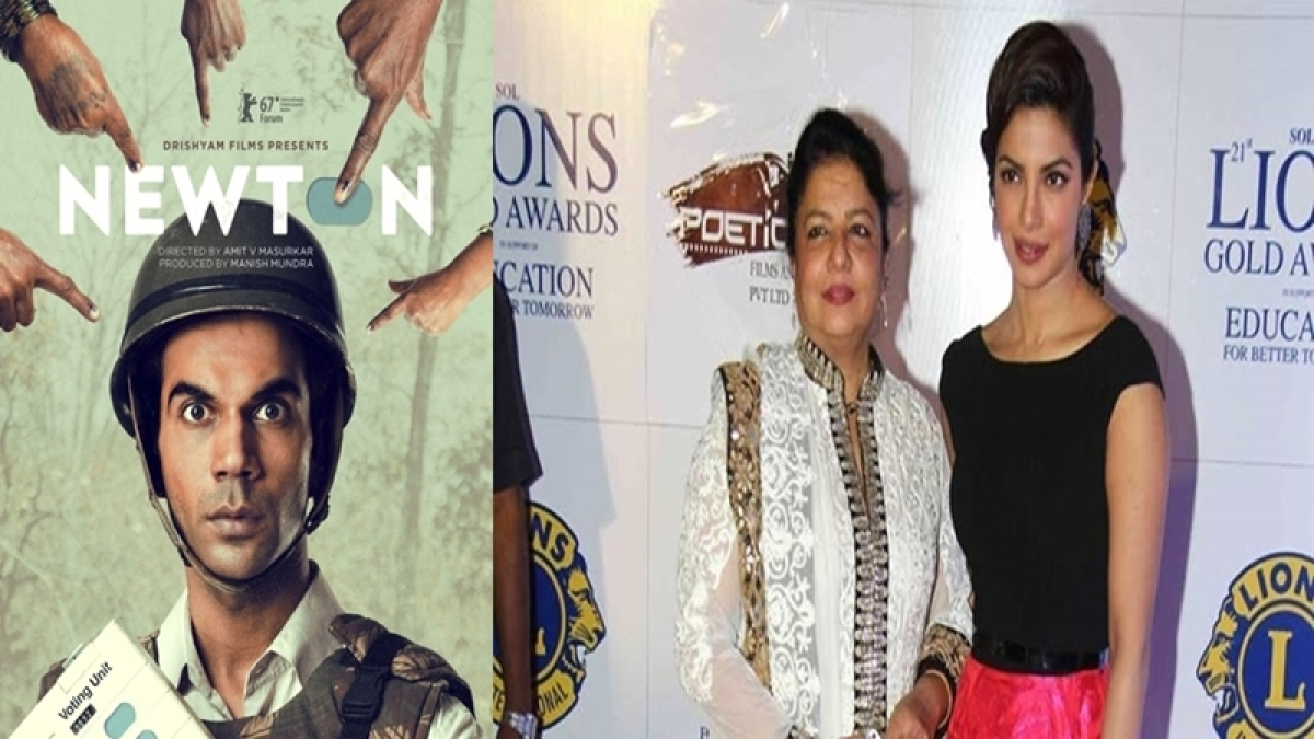 Shocking! Priyanka Chopra and her mom disappointed over Newton's selection for Oscars 2018