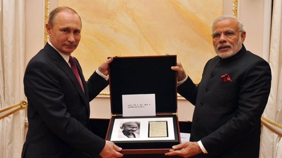 Gifts birthday boy PM Narendra Modi has received: Sekonda wristwatch, bicycle, a rare book