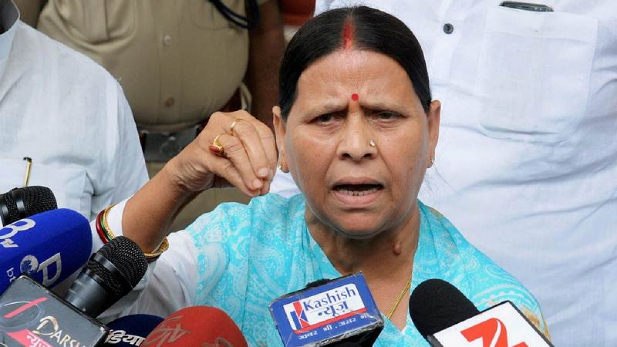 Former Bihar CM Rabri Devi loses status as Leader of Opposition in Bihar Vidhan Parishad