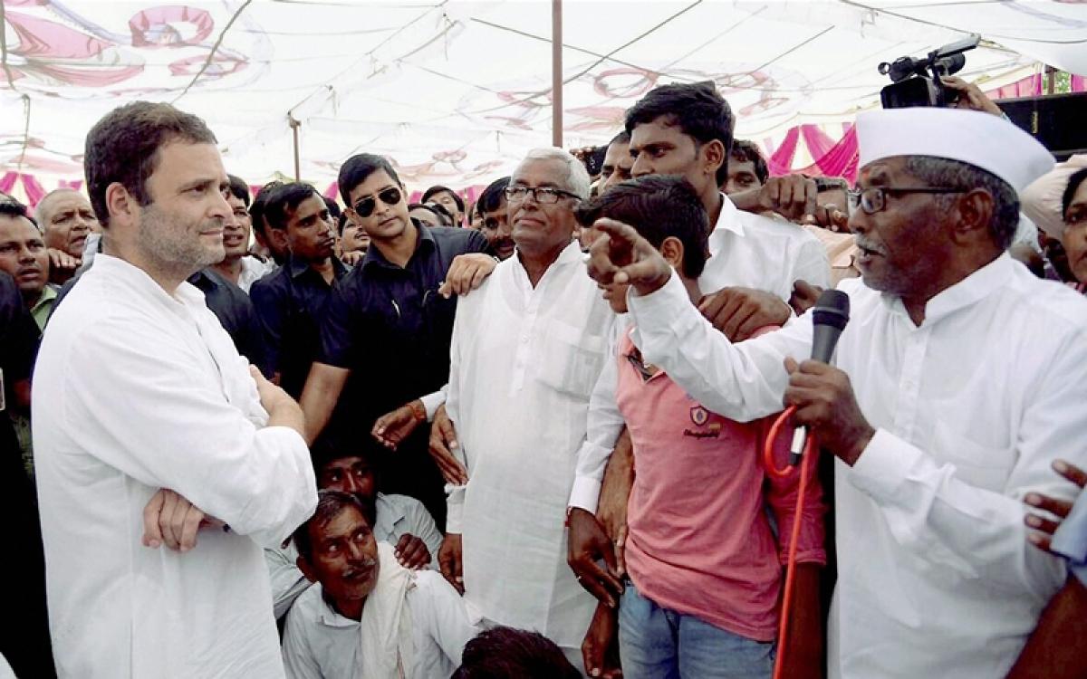 Narendra Modi's concession to Tata dues more than farmers' loan waiver: Rahul Gandhi