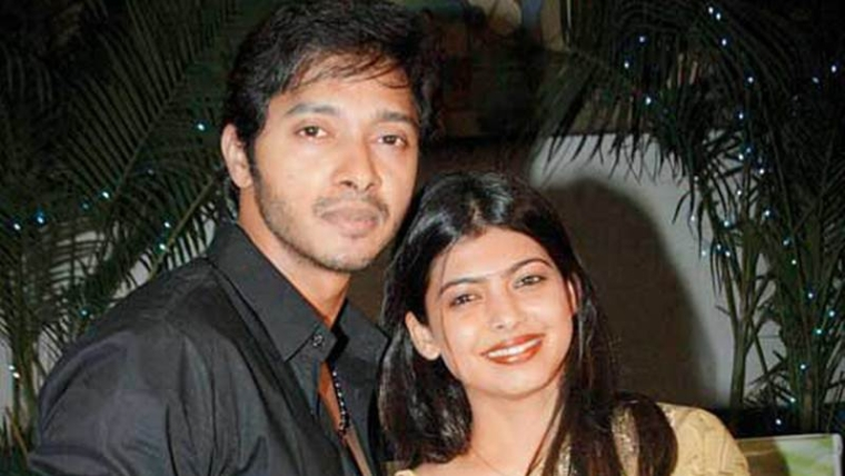 Shreyas Talpade with wife Deepti Talpade
