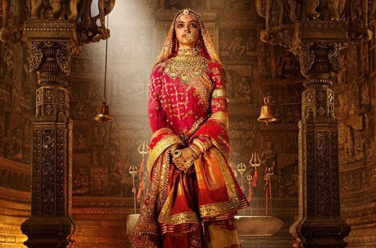 Deepika Padukone looks 'pure royalty' in first look poster of 'Padmavati'