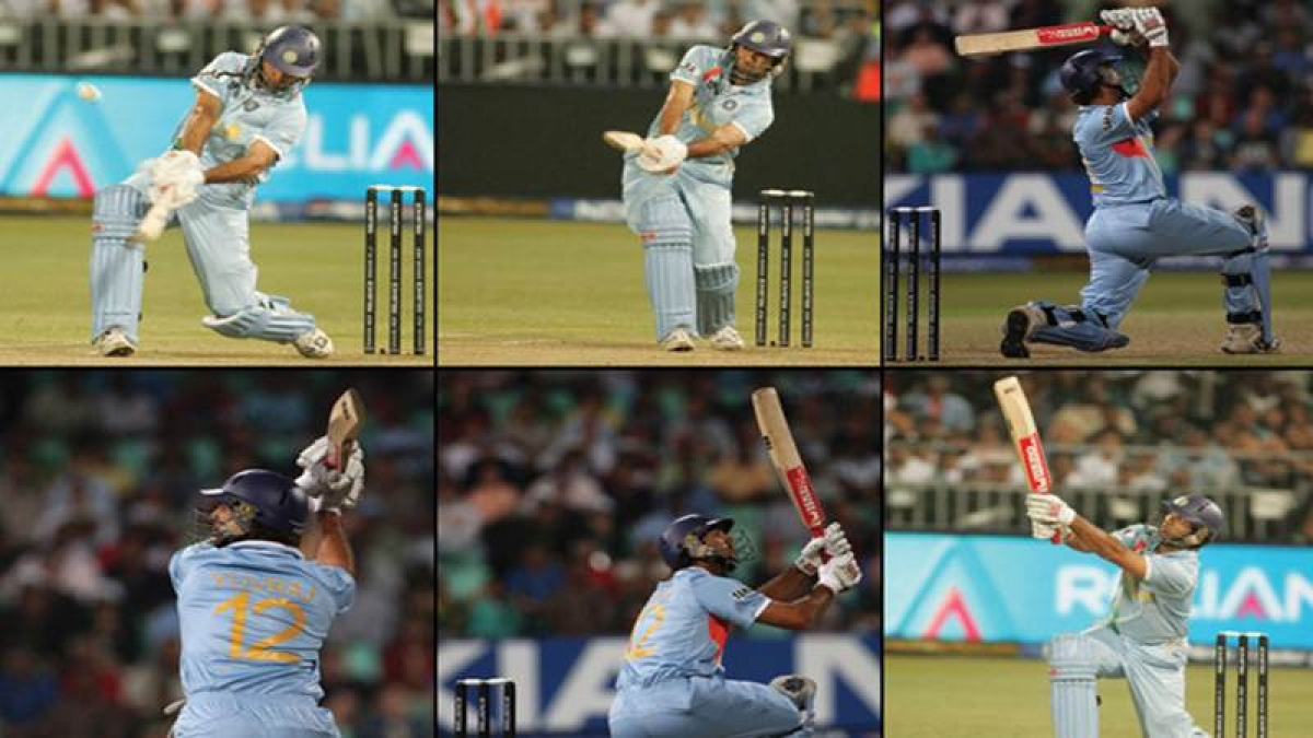 On This Day in History: September 19, 2007! Yuvraj Singh smashed Stuart Broad for six sixes in an over