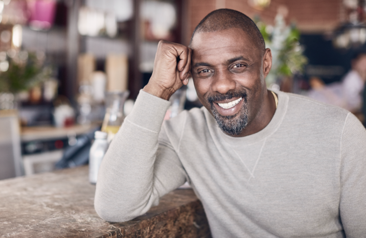 Falling in love was special for Idris Elba