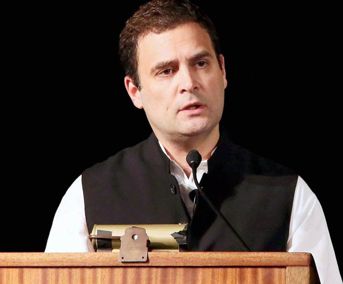 Rahul Gandhi visits solar research center in Silicon Valley