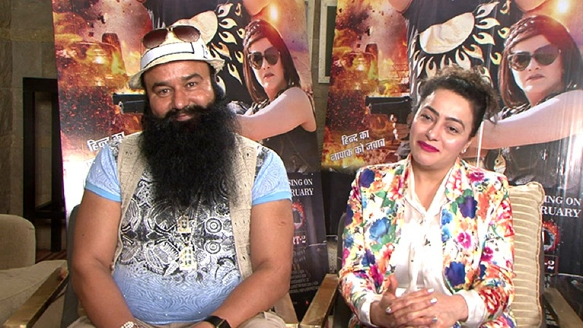 How can media malign a father-daughter relationship? asks Honeypreet Insan