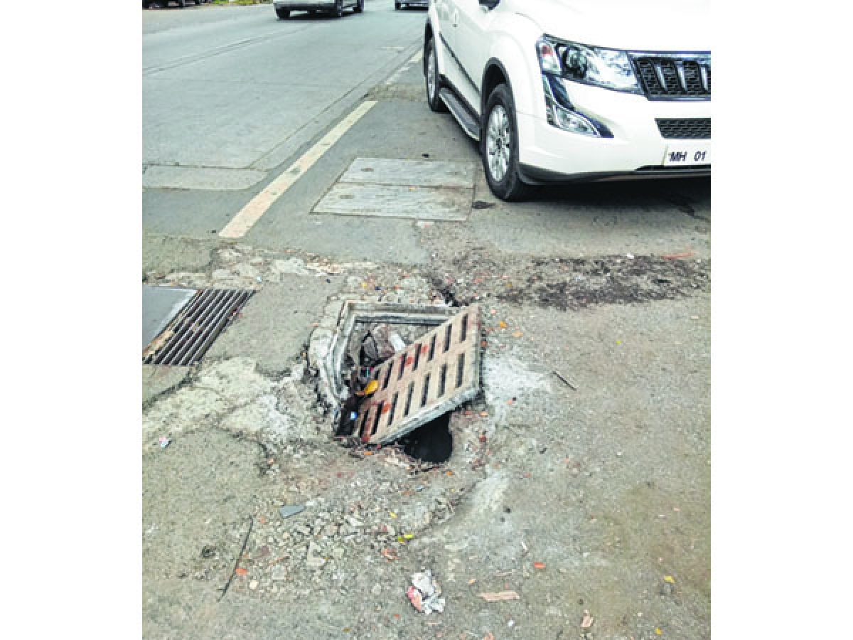 BMC apathy to blame for uncovered, broken drains