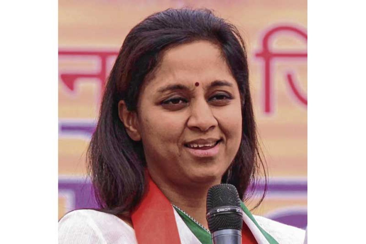 Supriya Sule targets state over 'Chacha Chaudhary & Narendra Modi' books