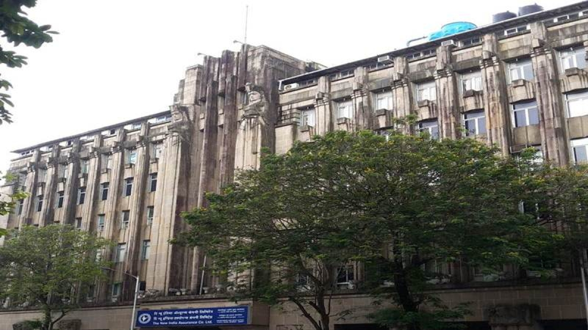 A long view of The New India Assurance Building Photo by: Kalyani Majumdar