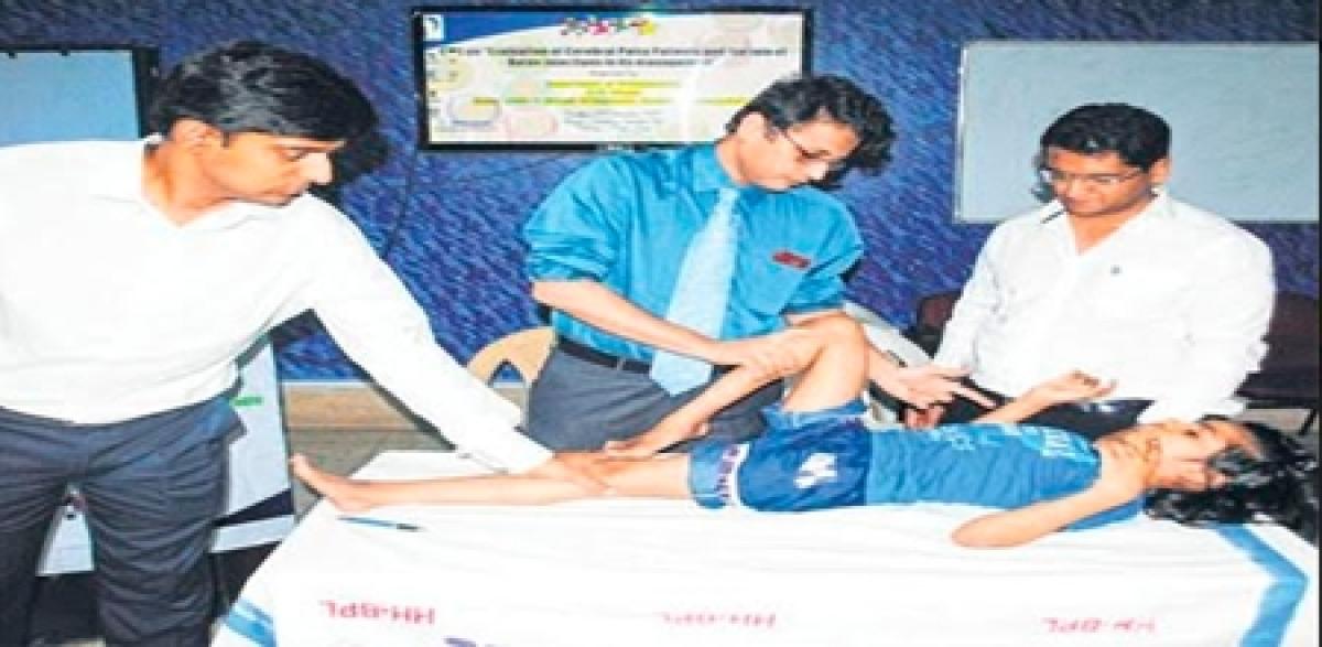 Bhopal: Around 200 docs attend workshop on 'evolution of cerebral palsy'