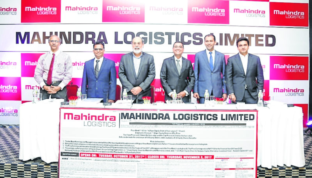 Mahindra Logistics offer to open on October 31