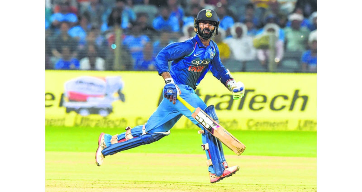 Our bowlers did half the job: Dhawan