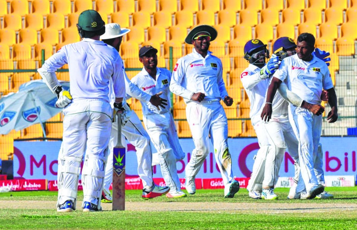 Rangana Herath spins SL to victory