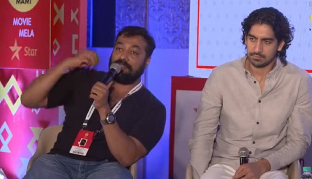 Watch Video: Anurag Kashyap loses his cool during MAMI film festival in Mumbai