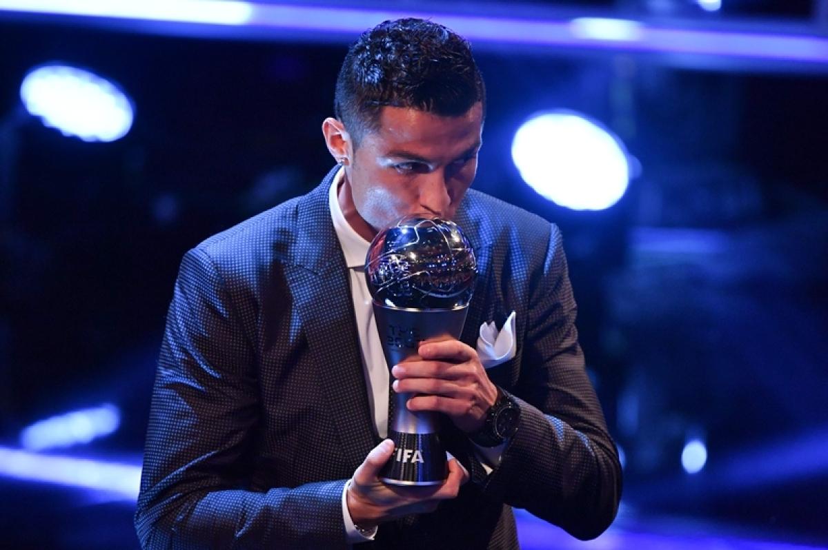 Cristiano Ronaldo named FIFA men's best player