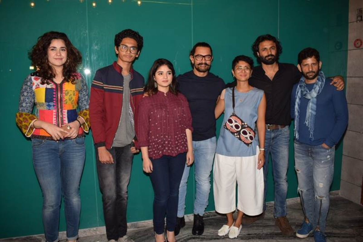 In photos! Look who all came for Aamir Khan's 'Secret Superstar' success party