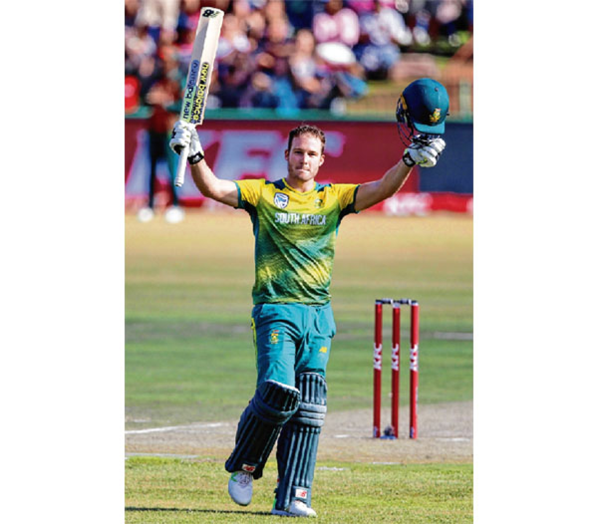 Miller hits fastest T20 ton as South Africa rout Bangladesh