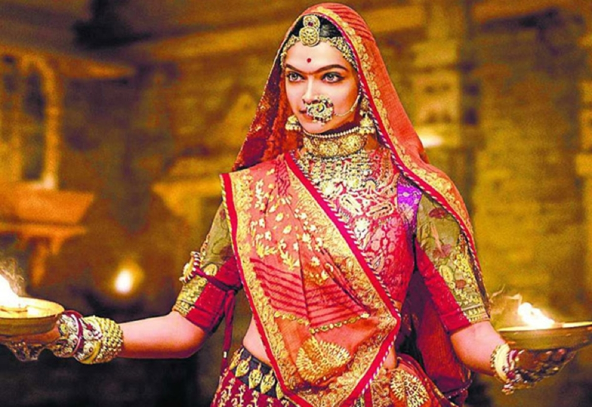 Deepika Padukone did 66 twirls in extravagant costume and jewellery for 'Padmavati'