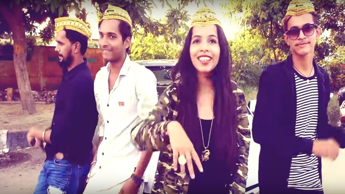 New song of Bigg Boss 11 contestant Dhinchak Pooja, Afreen Fathima Bewafa Hai, sets the internet of fire