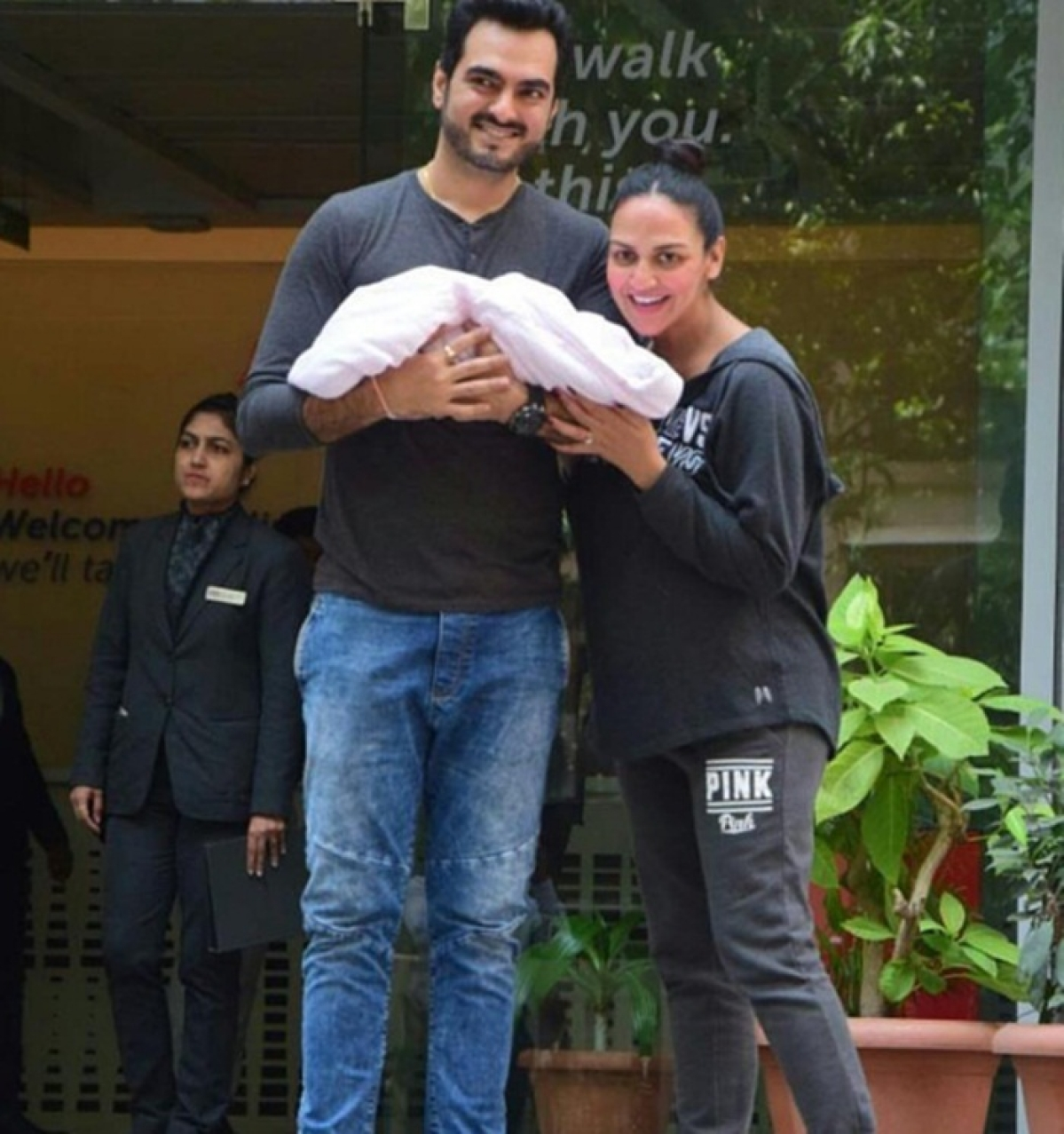 In Pics: Esha Deol and husband Bharat Takhtani blessed with a baby girl