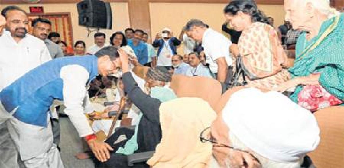 Bhopal: Shivraj Singh Chouhan launches single click pension scheme