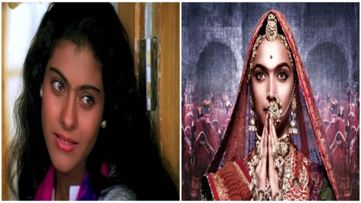 LOL! Kajol is the pioneer of Unibrow trend, not Deepika Padukone! See pics