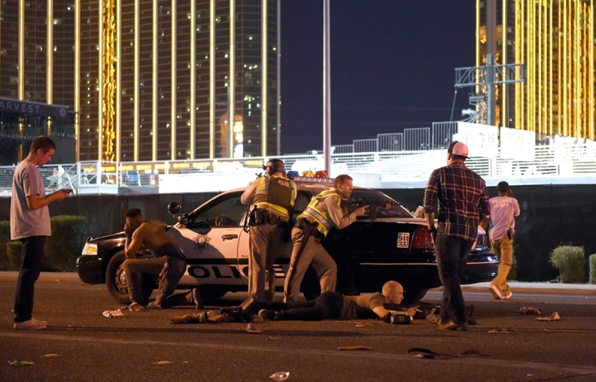 IS claims responsibilty of Las Vegas Concert shooting
