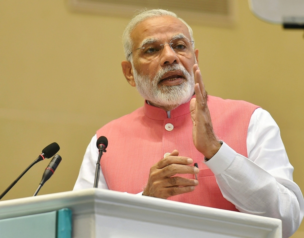 Global warming is challenge, saving natural resources important: PM Narendra Modi