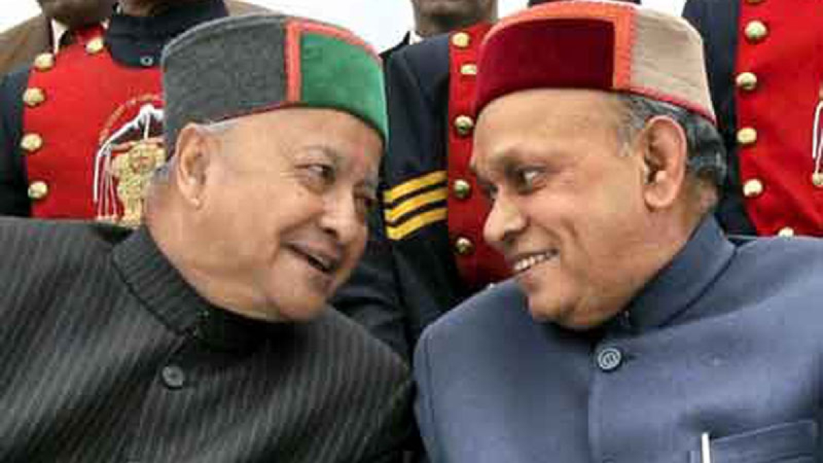 Former CM Dhumal in BJP list of candidates for Himachal polls