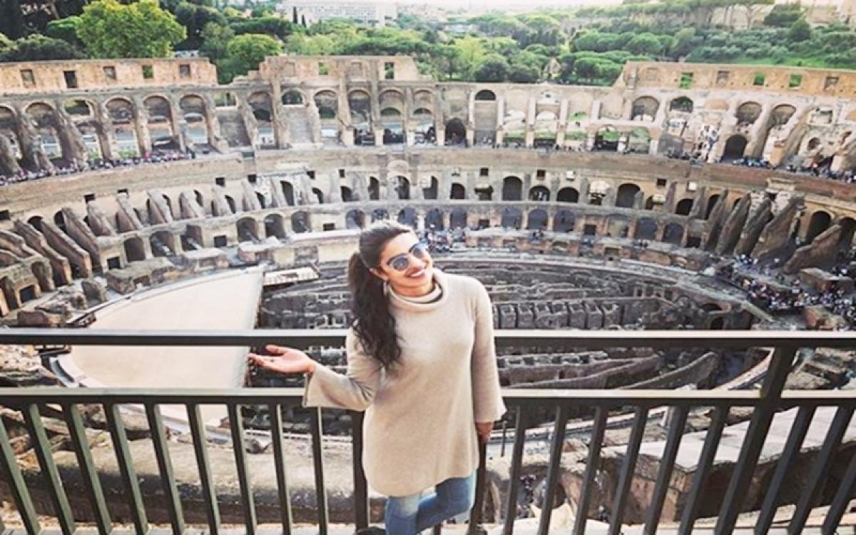 Priyanka Chopra explores Rome in new Instagram photos