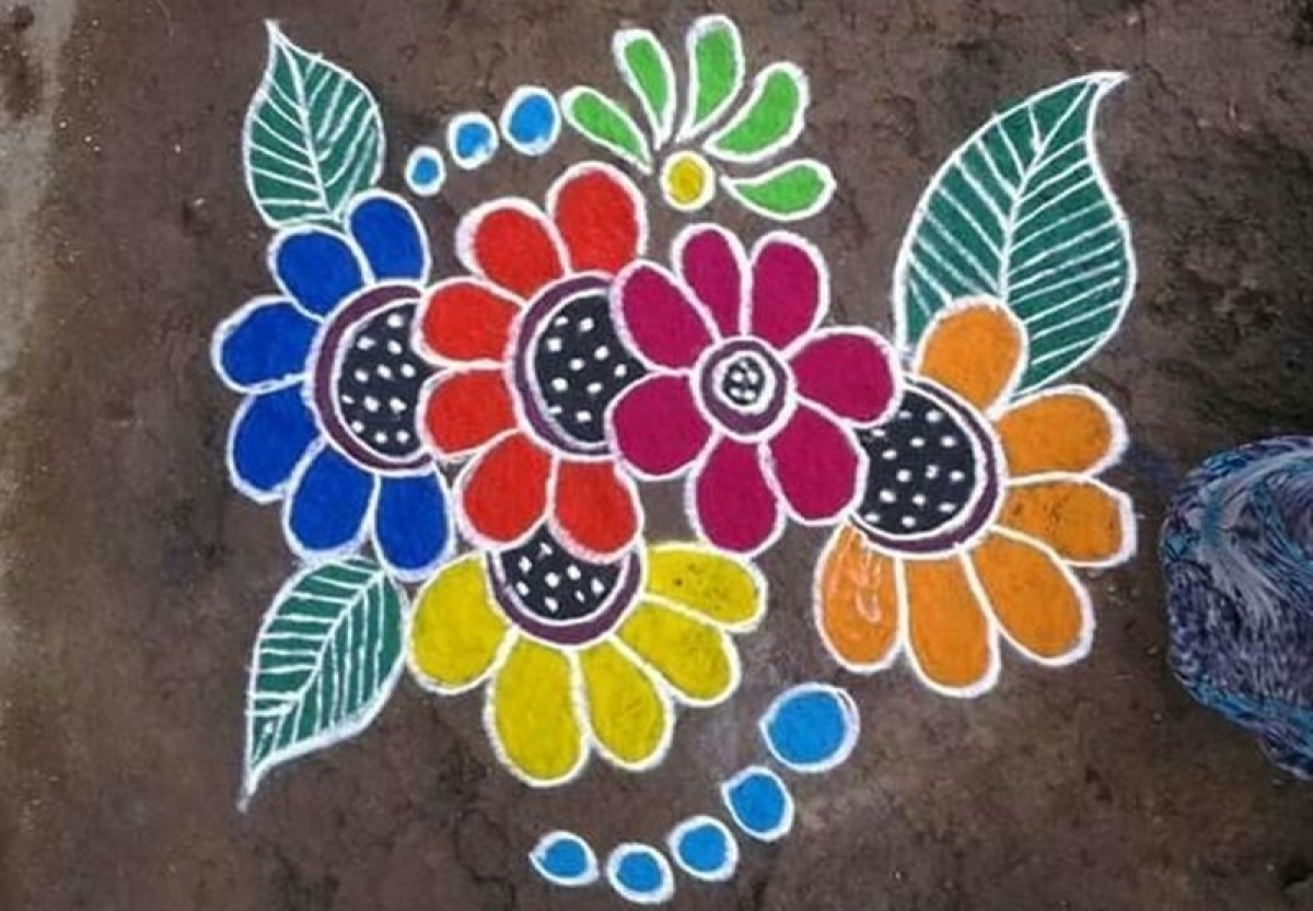 Diwali 2017 Easy Rangoli Patterns And Designs To Enhance Your