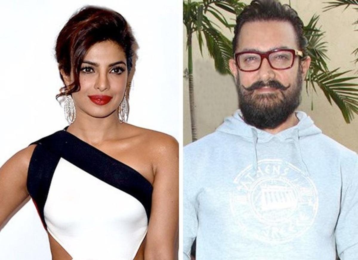 SCOOP: Priyanka Chopra roped in for Aamir Khan's Rakesh Sharma biopic Salute?