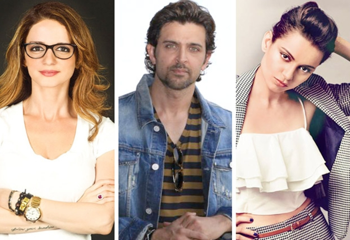 SHOCKING! Sussanne Khan is the reason behind Hrithik Roshan's comment over Kangana Ranaut