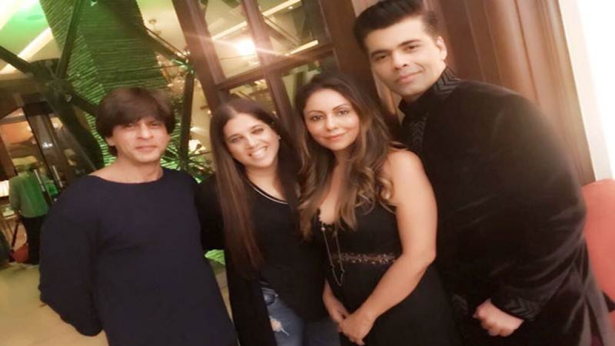 Shah Rukh's Diwali bash photos: Farah Khan, Karan Johar, Aanand L Rai and others in attendance