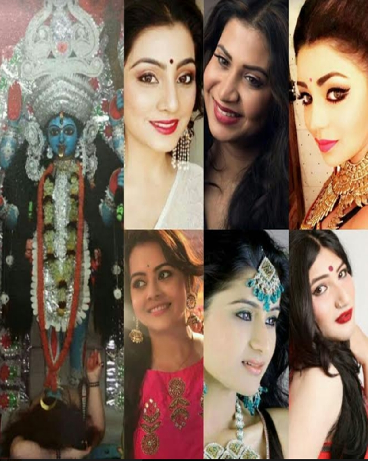 Diwali 2017: TV actresses and their 'Bong' connection with Kali Pujo