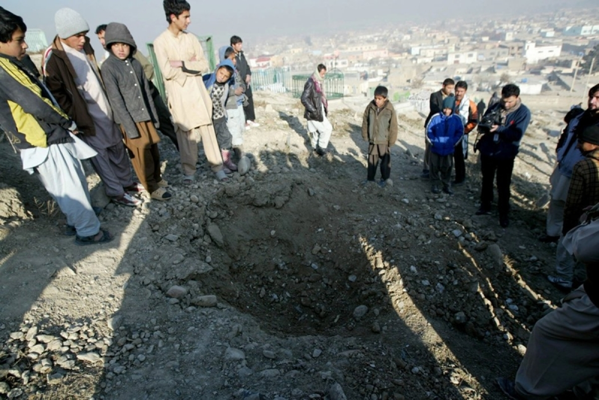 Three rockets fired in Kabul's diplomatic area
