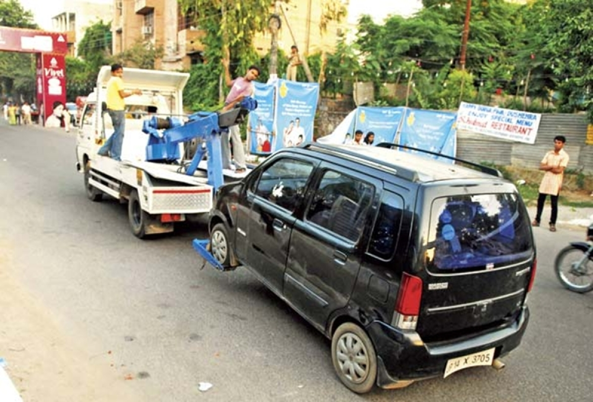 Mumbai: MBMC to tow away wrongly parked vehicles and impose a hefty fine