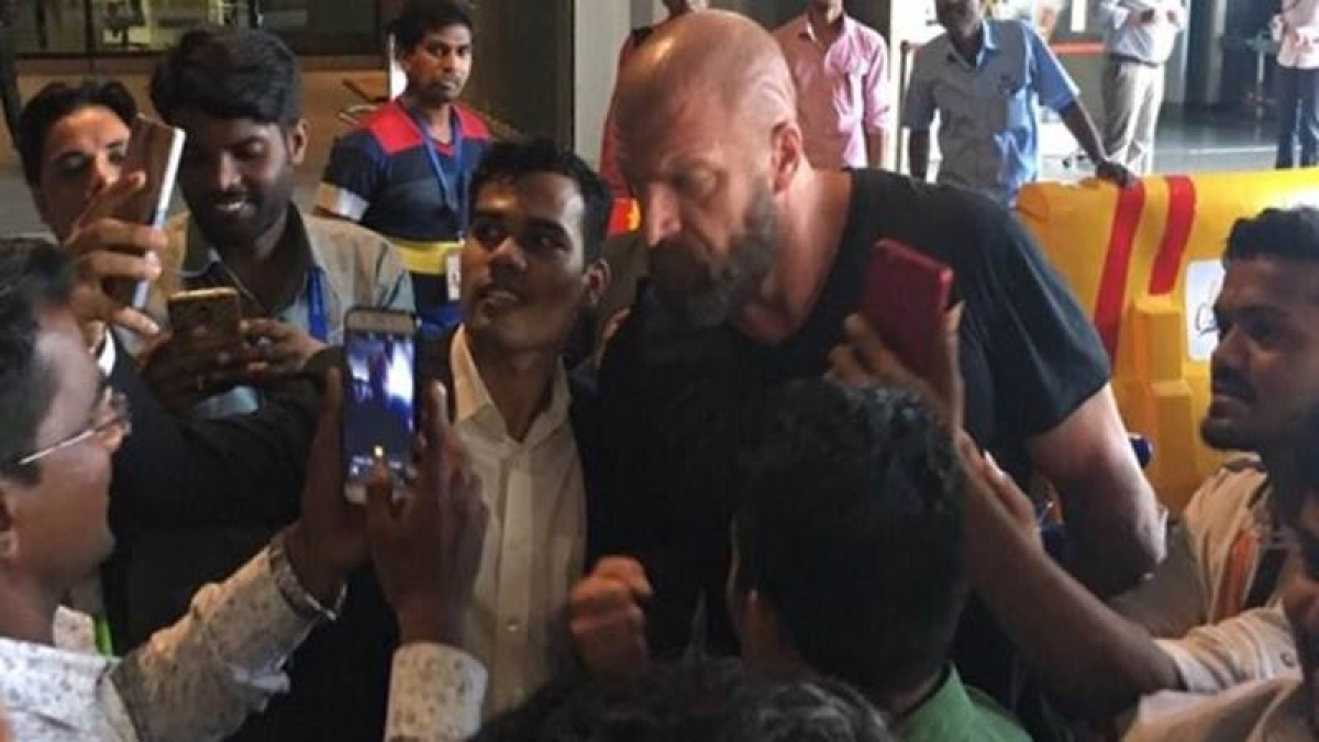 Triple H in India: WWE superstar recited this iconic Amitabh Bachchan dialogue
