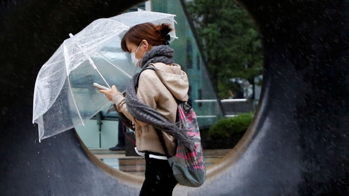 Typhoon Lan: Hundreds of flights cancelled in Japan