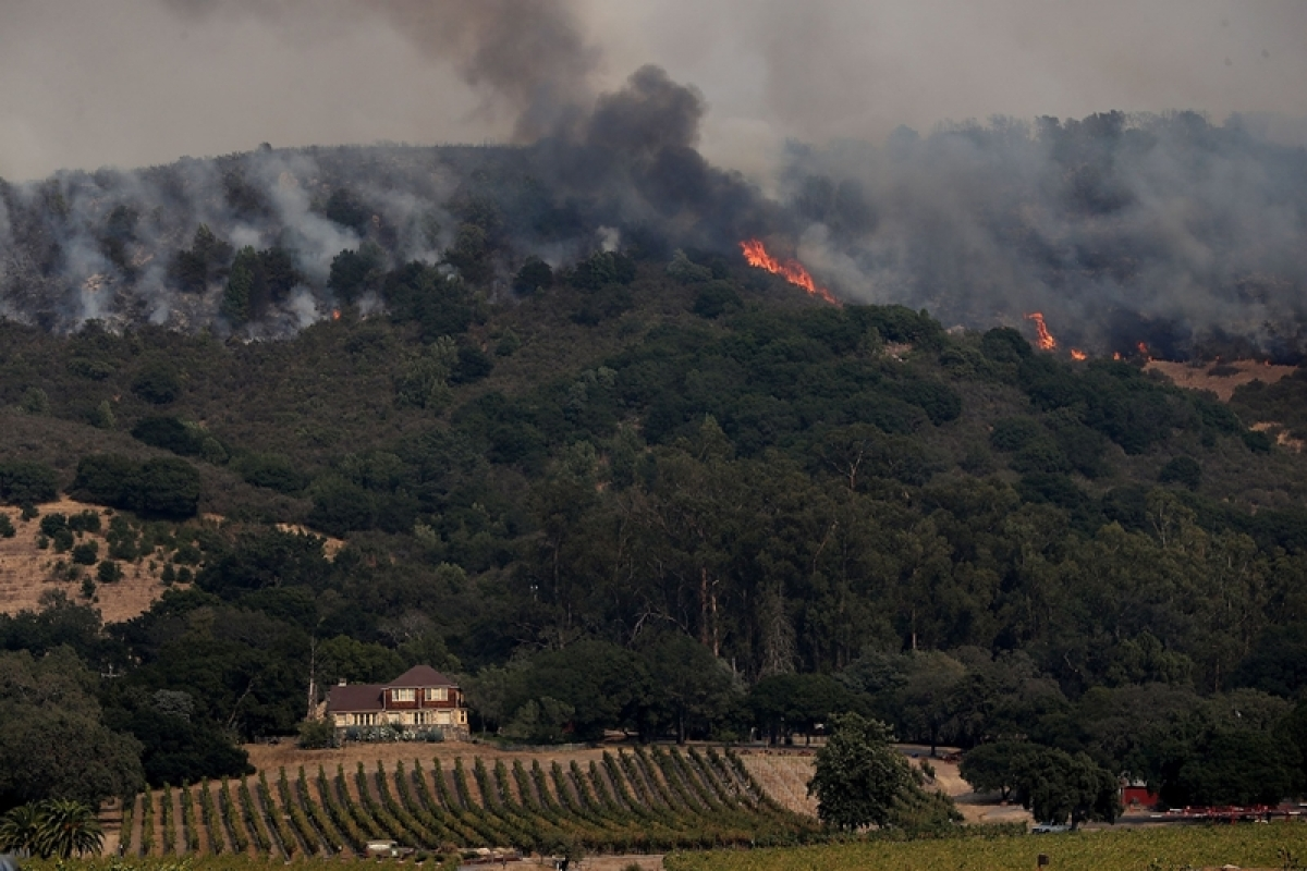 United States: 631 people missing in California's wildfires
