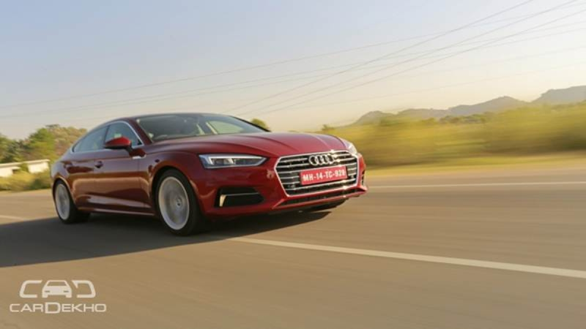 Audi A5 Sportback Launched At Rs 54.02 lakh