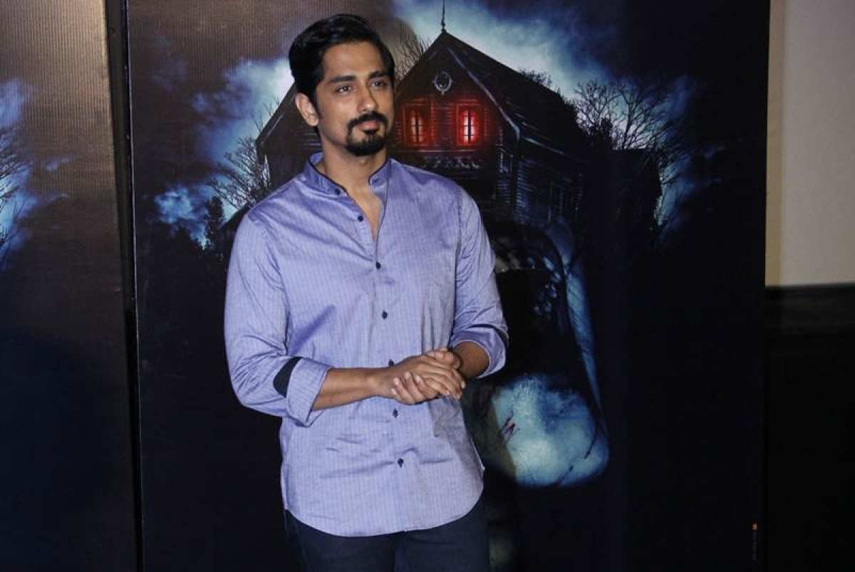Siddharth embarks on a 'scary' journey