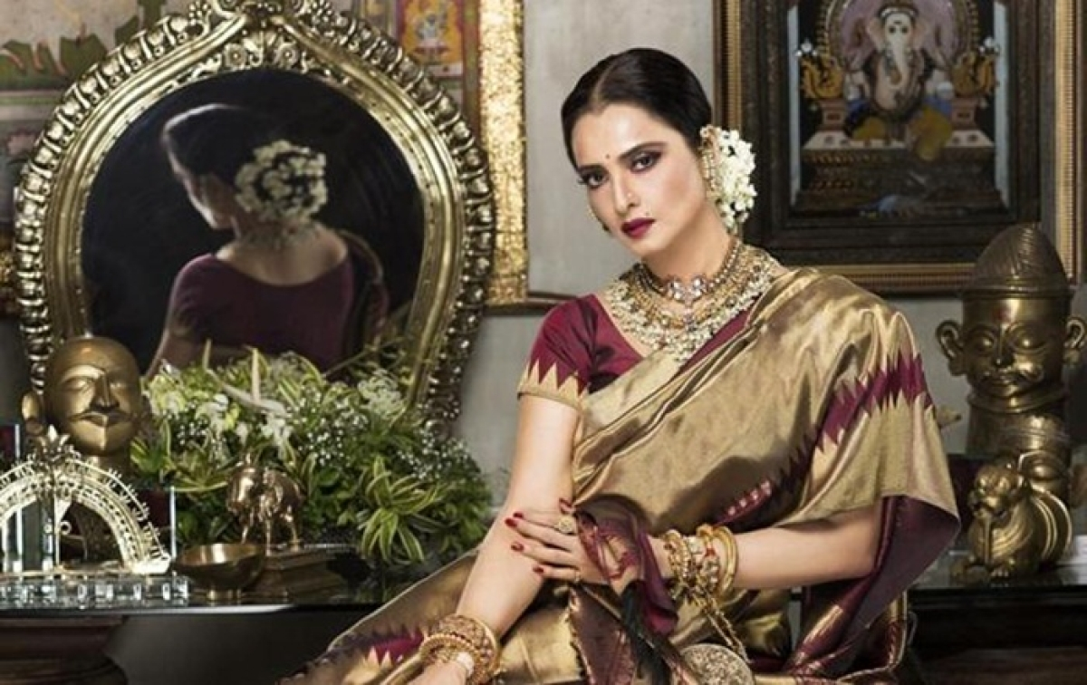 Designer Sabyasachi wants veteran cine icon Rekha to be his showstopper