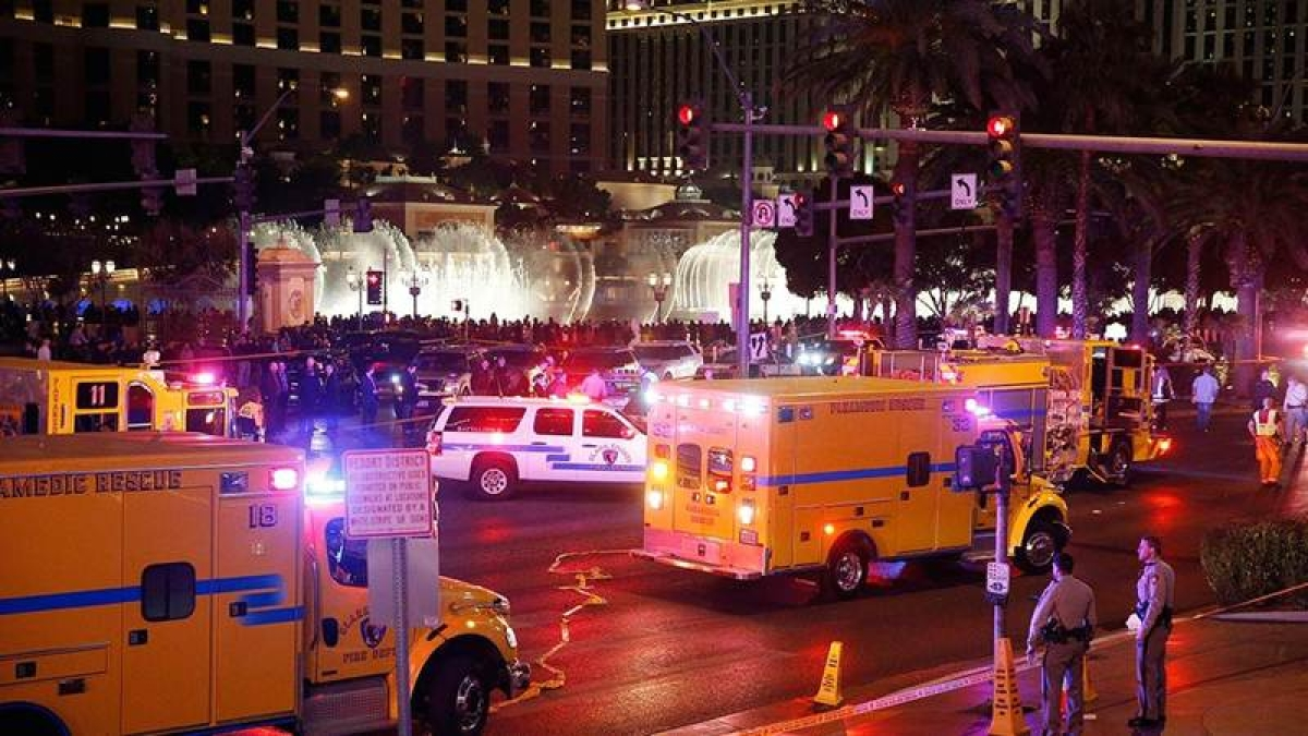 3 boys killed, 1 injured as car jumps Las Vegas sidewalk